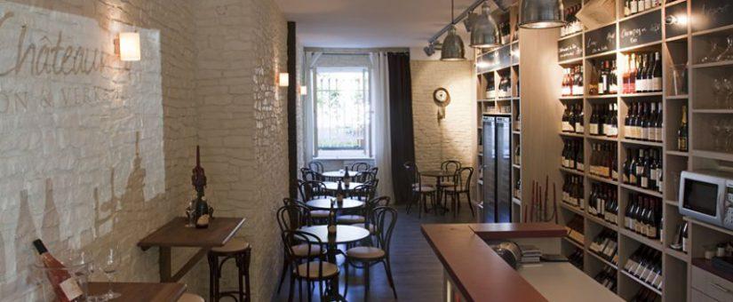 Weinbar Chateauneuf